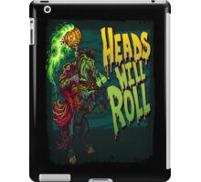 Heads Will Roll iPad Case/Skin