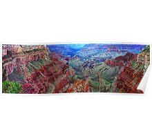 Grand Cayon South Rim View Poster