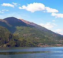 Lake Como Panorama by Adrian Alford Photography