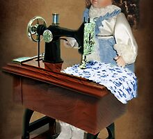 ✿♥‿♥✿ SEWING IS WHAT I LIKE TO DO -DOLL & SEWING MACHINE ✿♥‿♥✿ by ✿✿ Bonita ✿✿ ђєℓℓσ