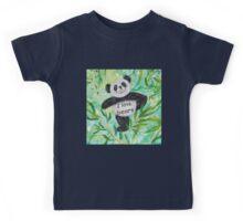 'I Love Bears' with Panda bear Kids Tee