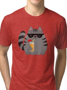 Cool Cat Tri-blend T-Shirt