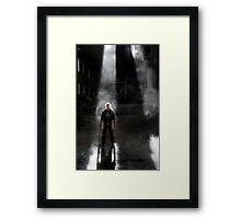 28.9.2013: Man and Dust Framed Print