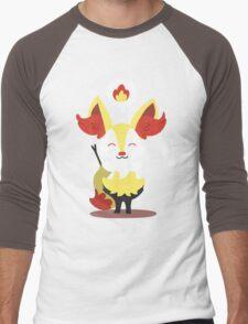 Choose Your Evolution: Fire Men's Baseball ¾ T-Shirt