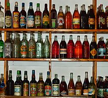 Old Pop Bottles by DavidsArt
