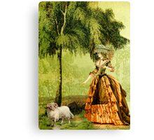 Pastoral Lady Canvas Print