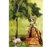 Pastoral Lady Photographic Print