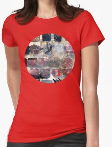 Squares of experimentation Womens Fitted T-Shirt