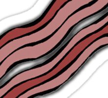 Bacon we trust Sticker