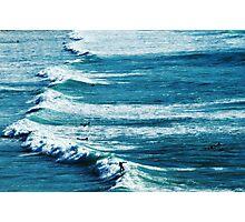 Surfing Photographic Print