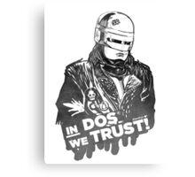 Robocop'87  Canvas Print
