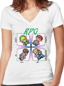 Oh my god look at all my EXP Women's Fitted V-Neck T-Shirt