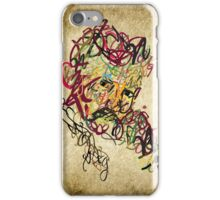 Typo Nikola Tesla design iPhone Case/Skin