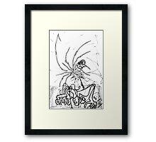 086 Framed Print