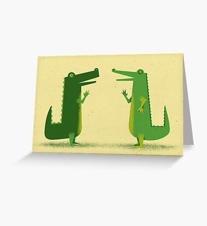 Later Gator Greeting Card
