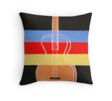 The four stringed guitar Throw Pillow