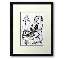 094 Framed Print