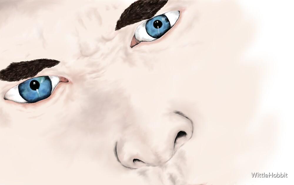 Sherlock's eyes. by WittleHobbit