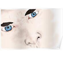 Sherlock's eyes. Poster