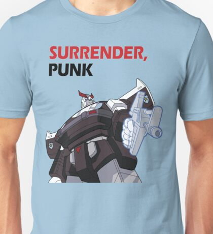 "Prowl - ""Surrender, punk"" Unisex T-Shirt"