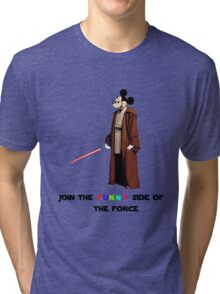 Join the funny side of the force Tri-blend T-Shirt