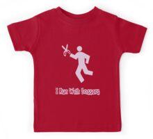 Runs With Scissors Kids Tee