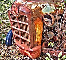 Rusty Ford tractor HDR by GWGantt