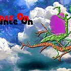 Praying Mantis - Dance On by Dennis Melling