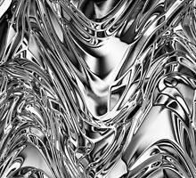 Glowing Silver Effect by BluedarkArt