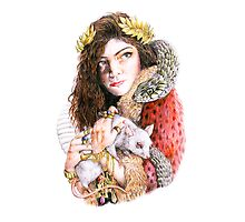 Lorde - The Love Club EP by dellycartwright