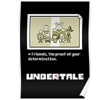 Undertale characters Poster