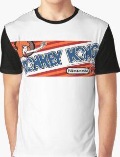 Donkey Kong Arcade Graphic T-Shirt
