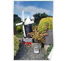 Windmill - Bondville Model Village Poster