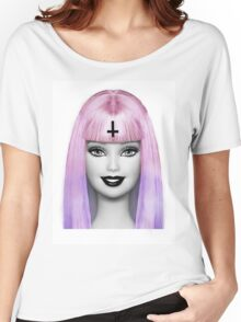 GRUNGE BARBIE Women's Relaxed Fit T-Shirt