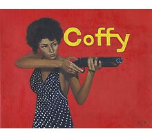 Pam Grier as 'Coffy' Photographic Print