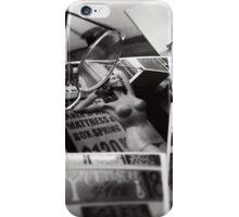 Polaroid Mannequin Poses iPhone Case/Skin