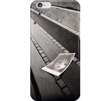 Creepy Doll Polaroid on Bench iPhone Case/Skin
