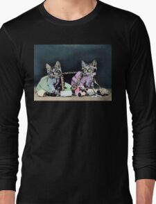 Naughty Kittens Long Sleeve T-Shirt