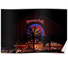 Paradise Pier Poster