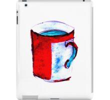 big coffee cup iPad Case/Skin