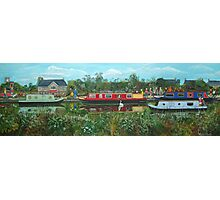 Narrowboat Days Photographic Print