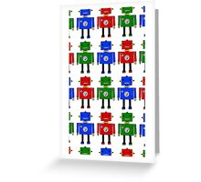 Robots (LARGE) Greeting Card