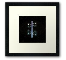 Uncertainty Avoidance [[ ... being my No. 1200 on Planet Redbubble! ]] Framed Print