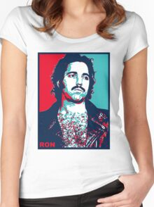 Ron Jeremy Women's Fitted Scoop T-Shirt