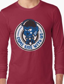 Blue Meanies Come Ride With Us Long Sleeve T-Shirt