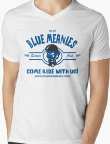 Est 2011 (Blue) Mens V-Neck T-Shirt