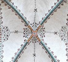 Marienkirche Ceiling Lübeck by SoulSparrow