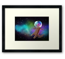 Otter Space Framed Print