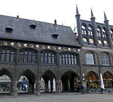 Rathaus Lübeck by SoulSparrow