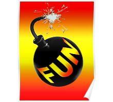 fun bomb Poster